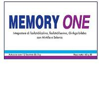 MEMORY ONE Integratore bustine 12X60 g