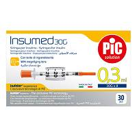 SIRINGA PIC INSULMED 0,3ml 30g 8mm 30pz